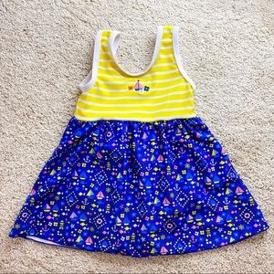 Used 1 time only. Baby swimsuit size 1-2years